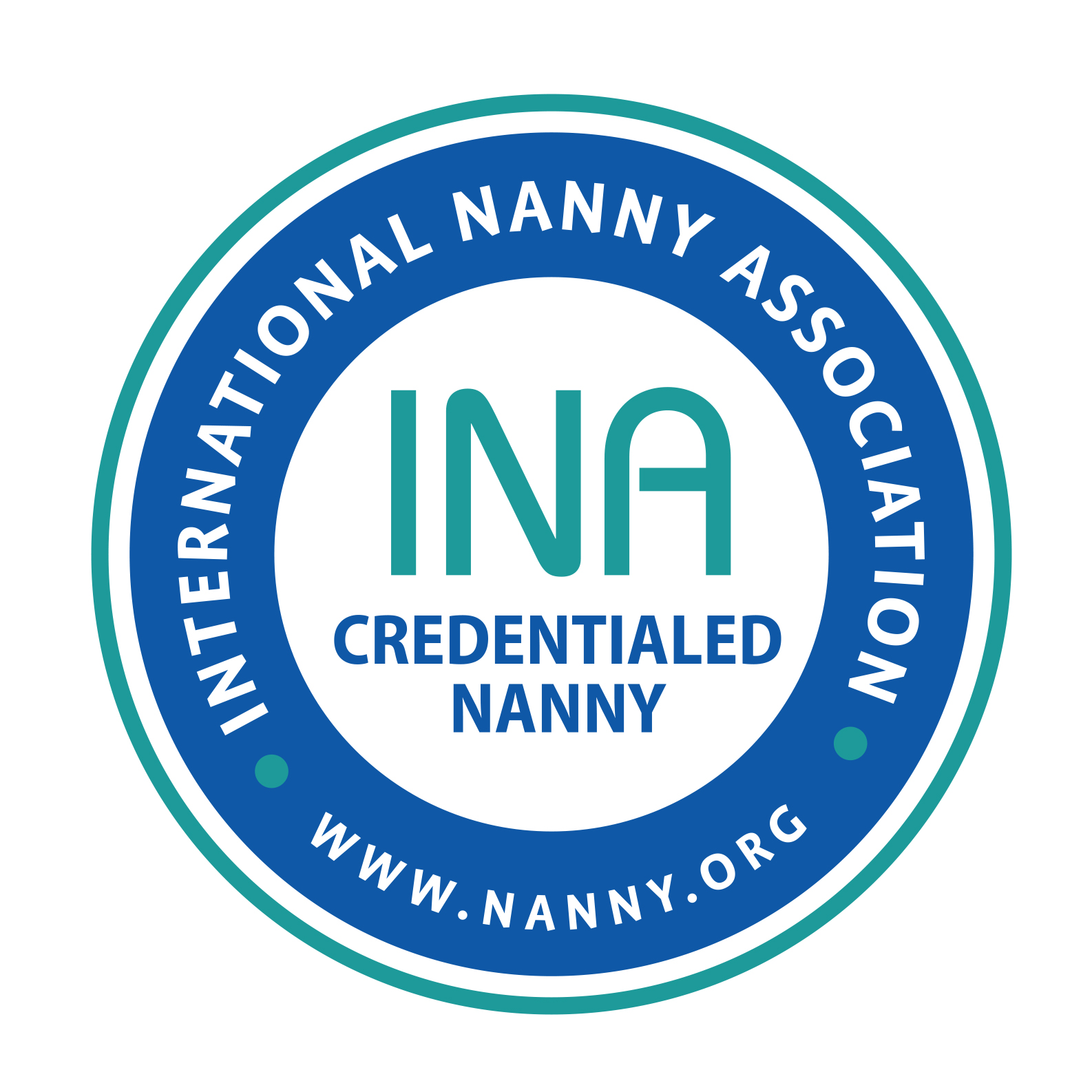 Proud INA Credentialed Nanny