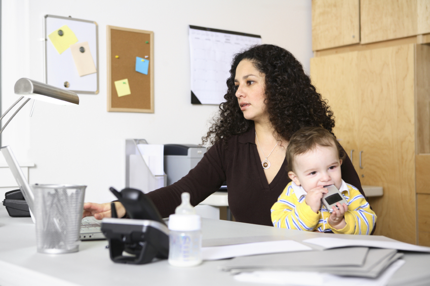 A Working Mom's Minute